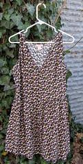 12 Small print floral dress