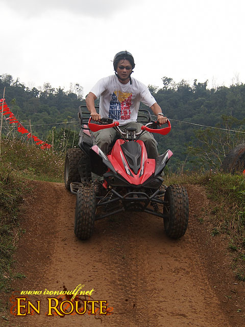 The ATV Track has  some challenging Tracks