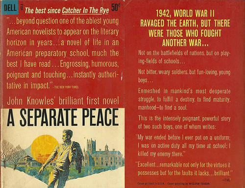 tragic flaw seen in a separate peace by john knowles