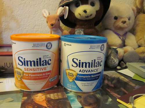 What's with the similac?