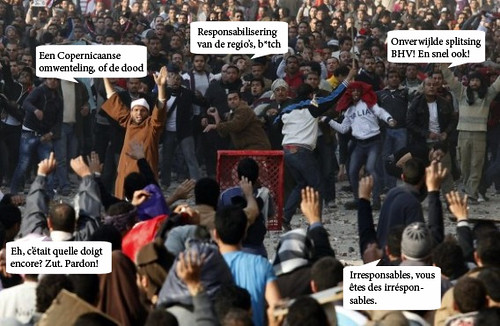 Die dag op Tahrir Square