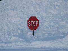 Short Stop (PPWIII) Tags: snow grandrapids blizzard drifts