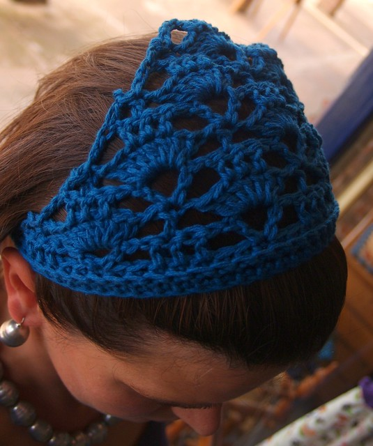 Crochet Hair Kerchief Pattern : ... on the original pattern and ch72. Repeat Row 1 only 2 times (not 3