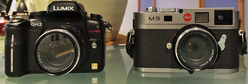 Panasonic GH2 Zeiss 50mm f/2 Planar Leica M9 Voigtlander 35mm f/1.4
