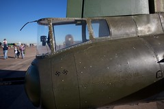 Tail Gunner Two Kills (Bill Jacomet) Tags: airplane wings texas over houston airshow b17 ww2 bomber warplane raiders b17g texasraiders