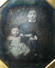 Through the veil (smokey lace) Tags: boy baby children early victorian eerie haunting daguerreotype ghostly