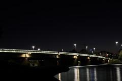 King's Ave Bridge...   (Faisal...as ever!) Tags: road longexposure bridge lake water architecture landscape lights evening nightshot australia landmark canberra act urdu australiancapitalterritory lakeburleygriffin nightimage kingsave