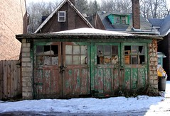 Pennsylvania ~ Aliquippa (e r j k . a m e r j k a) Tags: abandoned doors pennsylvania garage beaver ghosttown weathered derelict doorways aliquippa workaday upperohiovalley pa51 erjkprunczyk i376pa