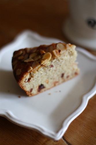 A Simple Almond and Cherry Cake, Take 2