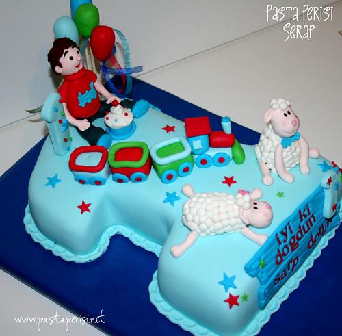 LAMBS CAKE - DORUK 1ST BIRTHDAY