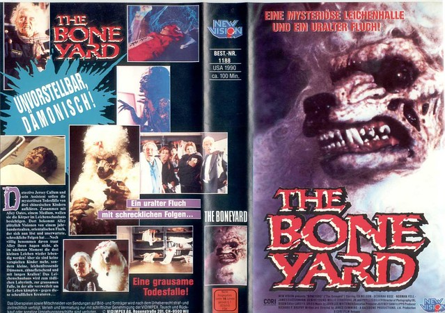 The Bone Yard (VHS Box Art)