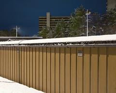 (Thorir Vidar) Tags: winter snow building norway vinter apartment no bergen hordaland snø sn sane garages åsane sn¿ thorir110112807779dpadng