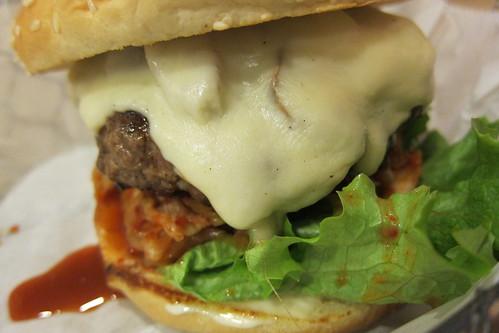 The Fix Burger: Kimchi Burger
