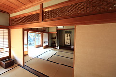 Japanese traditional style house interior design / () (TANAKA Juuyoh ()) Tags: house home architecture japanese design high ancient folk farm interior traditional style hires resolution 5d hi calligraphy residence res  ibaraki markii    joso           sakano  canonef14mmf28liiusm