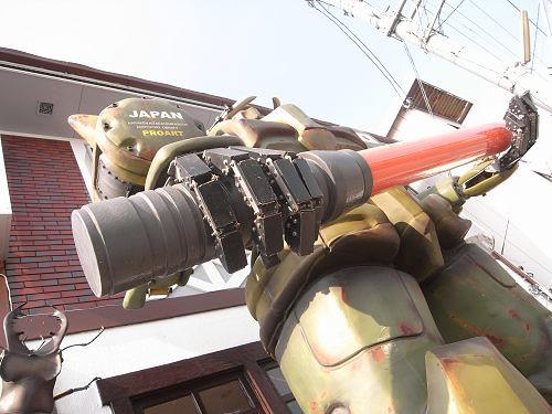 ザク風大型ロボット@天理市-07