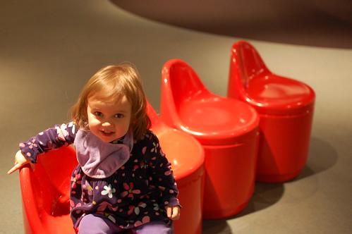 Plastic Chairs: Futuristic
