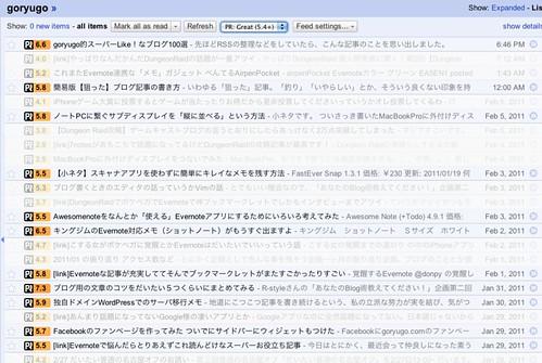Google Reader (427)