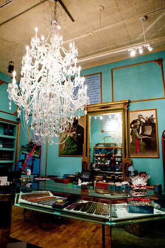 Interior of the SoHo store