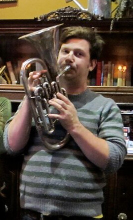 Playing the alto horn