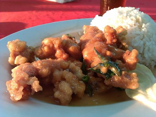 濑尿虾蛄饭