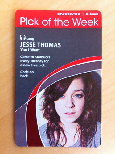 Starbucks iTunes Pick of the Week - Jesse Thomas - You I Want
