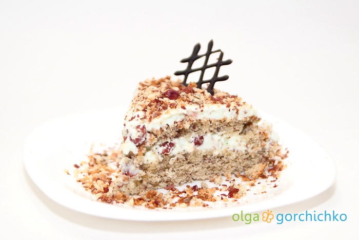 Торт ореховый воздушный