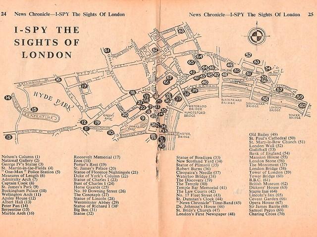 I-Spy Map