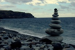 It's not a holiday without a rock balance