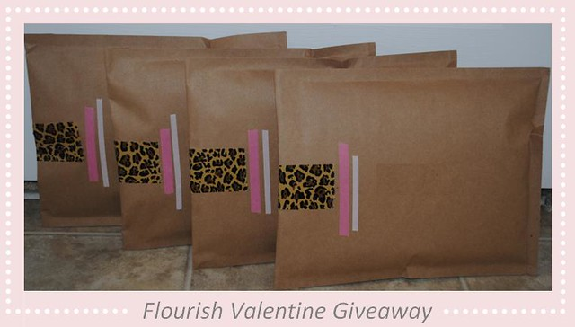Valentine Giveaway Packaging