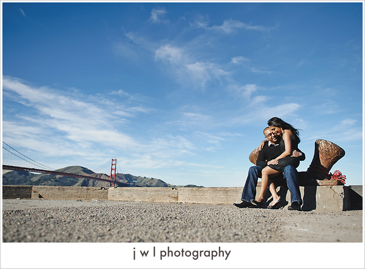 reena_shaun_78 Fort Point Engagement