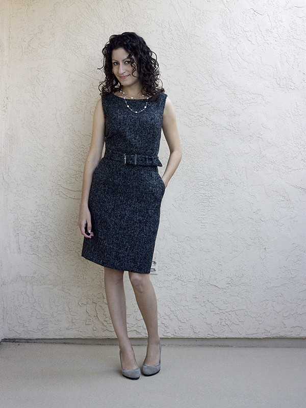 Banana Republic Tweed Dress 3 600