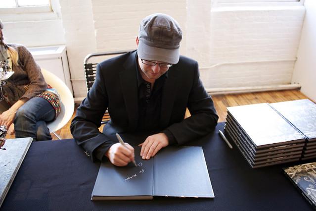 Kris Kuksi book signing