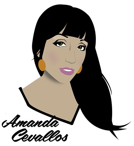 Illustration of Amanda Cevallos