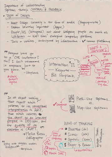 Designing Advanced Design part 2 #ixd11