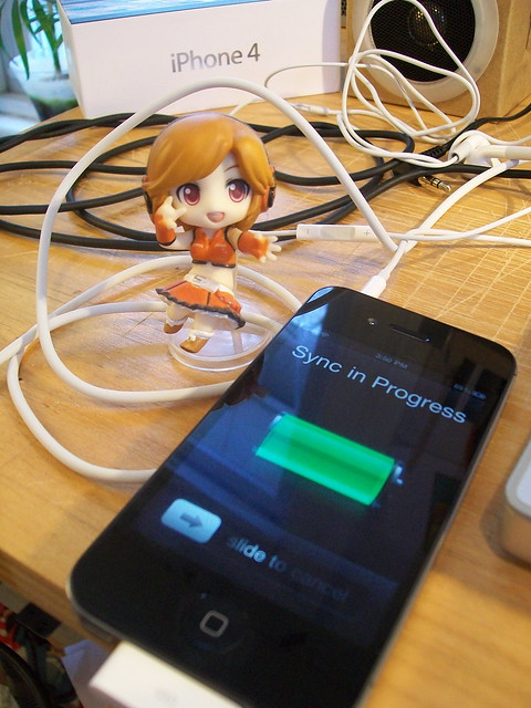 Meiko and my iphone
