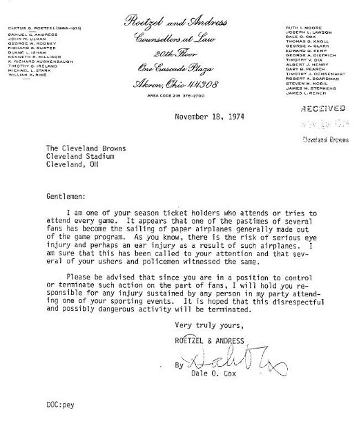 Letters to assholes