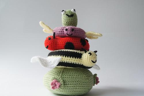 Crochet Toy Stacker