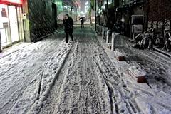 (ogikubokei) Tags: snow japan night tokyo   setagaya  ixy30s