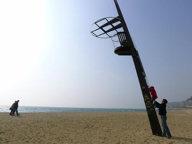 Arenys beach