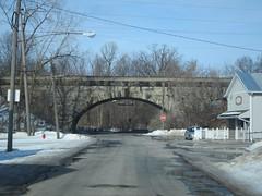 B&O Stone Arch Bridge (Fan-T) Tags: bridge dan stone arch bo improvement 1908 willard cutoff csx
