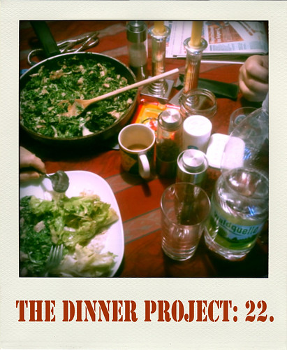 the dinner project: kw 6