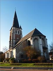 Eglise St Vaast (florence.V) Tags: france church eu glise nord 59 stvaast lesweppes hallenneslezhaubourdin