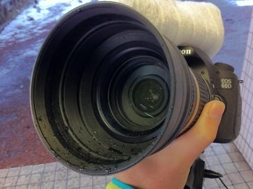 濡れ濡れカメラ