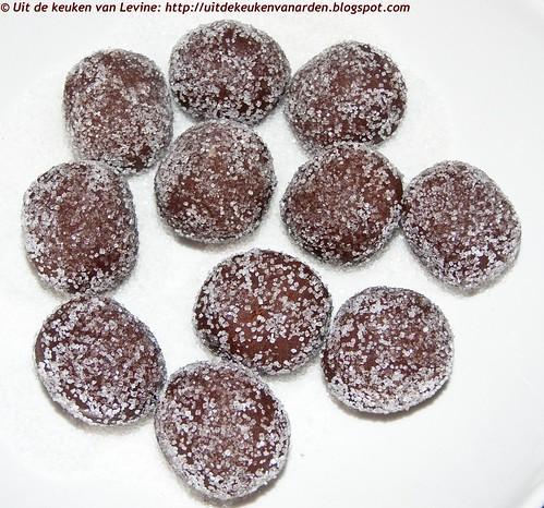 Chocolate sugarsnaps