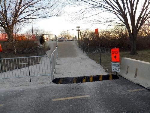 GW Parkway detour