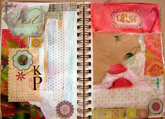 Art Journal Every Day (cathy.bluteau) Tags: color collage journalling panpastels artjournaleveryday