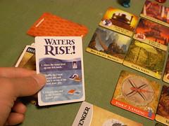 出ちゃったよ「水位上昇!」カード