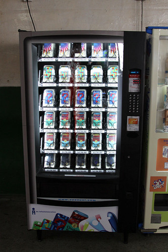 iPhone cover vending machine
