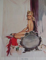 My china (Martha-Ann48) Tags: ladies artist risque lovelies calendars davidwright 195051