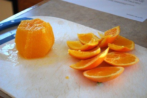 peeled orange, sort of